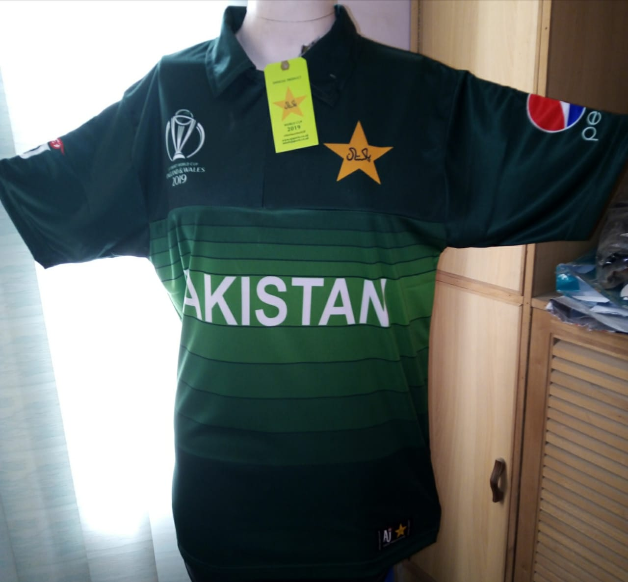 2019 Pakistan World Cup Shirt