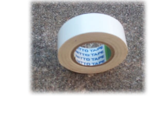 Red Tennis Ball Tape Roll