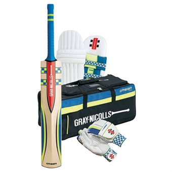 Gray Nicolls Omega Cricket Set Boxed